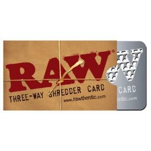 RAW SHREDDER CARD (8,5x5cm)  RAW SHREDDER CARD (8,5x5cm) 58345