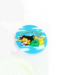 PLASTIC GRINDER RASTA 3 PARTS PRINT  PLASTIC GRINDER RASTA 3 PARTS PRINT 62165 C 2