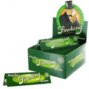 SMOKING GREEN KING SIZE PAPER  SMOKING GREEN KING SIZE PAPER 58111