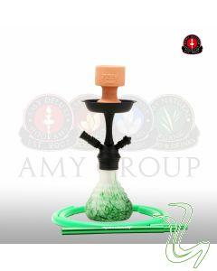 Amy - 760 Crazy Dots (Zwart/ Groen)  Amy – 760 Crazy Dots (Zwart/ Groen) 760 psmbk green frost
