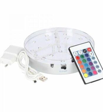 LED-Untersetzer 15cm + Bluetooth  LED-Untersetzer 15cm + Bluetooth eclipse led base 15 cm 1600548095bef8 600x600 350x380