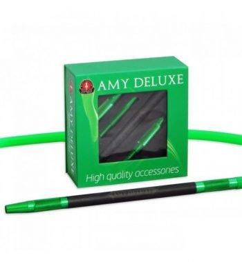 AMY Deluxe Aluminium grip slang  AMY Deluxe Aluminium grip slang amy deluxe siliconen slang alumium groen 350x380
