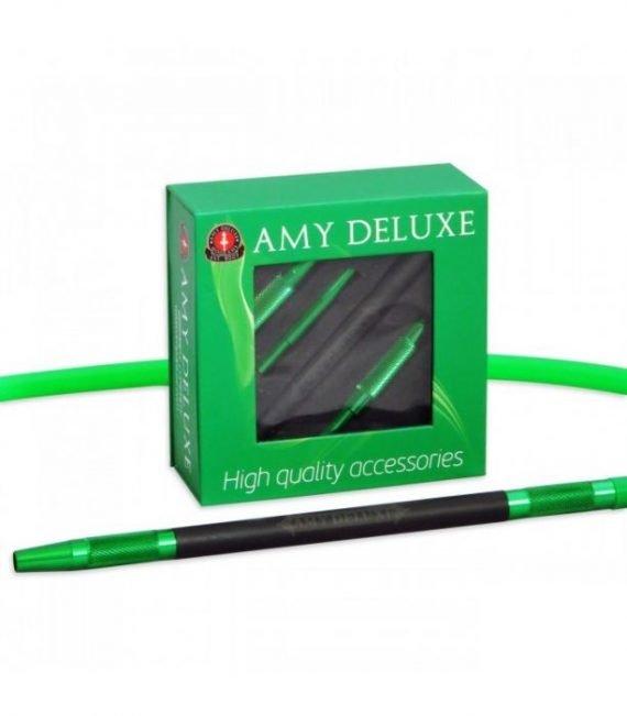 AMY Deluxe Aluminium grip slang  AMY Deluxe Aluminium grip slang amy deluxe siliconen slang alumium groen 570x651
