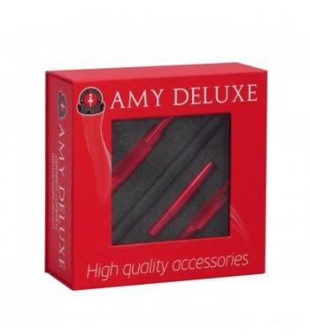 AMY Deluxe Aluminium grip slang  AMY Deluxe Aluminium grip slang amy siliconen slang kleur rood 350x380