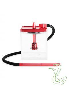 MS - Micro Cube (Rood)  MS – Micro Cube (Rood) ms micro rood waterpijp