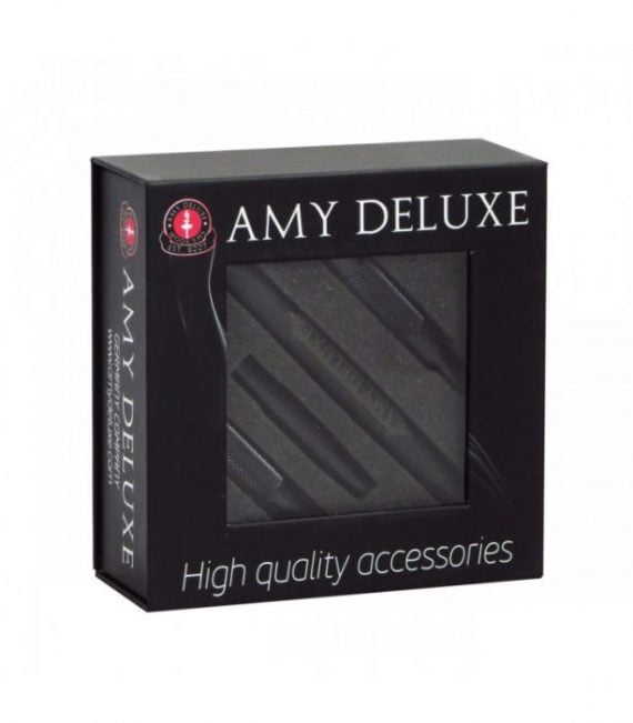 AMY Deluxe Aluminium grip slang  AMY Deluxe Aluminium grip slang zwarte amy deluxe siliconen slang 570x651