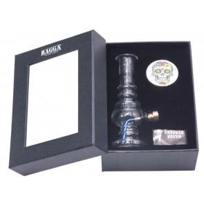 RAGGA BOX SET SMALL GLASS BONG GRINDER II  RAGGA BOX SET SMALL GLASS BONG GRINDER II 62072