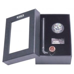 RAGGA BOX SET GLASS PIPE GRINDER  RAGGA BOX SET GLASS PIPE GRINDER 62073
