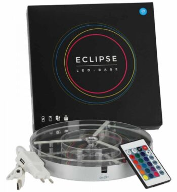 Eclipse LED-Untersetzer 20cm  Eclipse LED-Untersetzer 20cm eclipse led base 20 cm 1 1 600x600 350x380